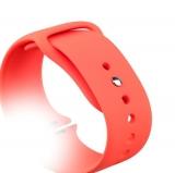 Спортивный ремешок для Apple Watch (44 mm) COTEetCI W3 Sport Band (CS2086 - RD), цвет красный