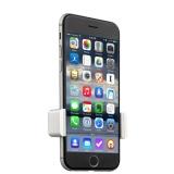 Магнитный автомобильный держатель для смартфонов COTEetCI Base2 Vent Car Holder Aluminum (CS2092 - TS) в решетку, цвет серебристый