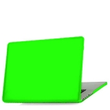 Чехол для Apple MacBook Pro Retina 13 BTA - Workshop матовый, цвет зеленый