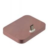 Док - станция Type-C универсальная, цвет розовое золото