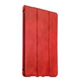 Кожаный чехол книжка для iPad Pro 9.7 iCarer Vintage Series, цвет красный