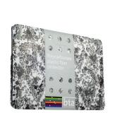 Чехол для Apple MacBook Pro Retina 15 BTA - Workshop с рисунком вид 3 (цветы)