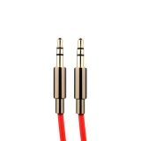 AUX кабель 3.5 мм jack COTEetCI Audio line Cable Aux CS5056 - RD (1.5 м), цвет красный