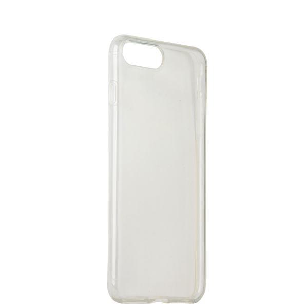 Чехол силиконовый для iPhone 8 (4.7) уплотненный в техпаке (прозрачный)