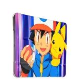Кожаный чехол книжка для iPad Air 2 Birscon Fashion series с рисунком GA - Print (Pokemon GO) вид 9