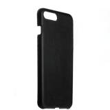 Кожаный чехол - книжка для iPhone 8 Plus Valenta Back Cover Classic Style, цвет черный