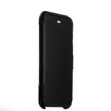 Кожаный чехол - книжка для iPhone 8 Valenta Booklet Classic Style, цвет черный
