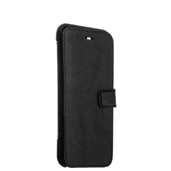 Чехол-книжка кожаный Valenta (C-1249) для iPhone 8 (4.7) Booklet Smart Black черный