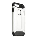 Противоударный чехол - накладка для iPhone 8 Plus Amazing design, цвет серебристый