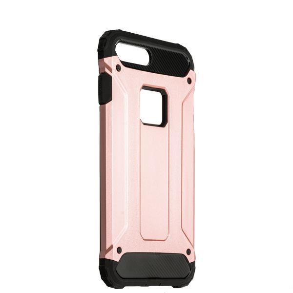 Накладка Amazing design противоударная для iPhone 8 Plus (5.5) Розовое золото