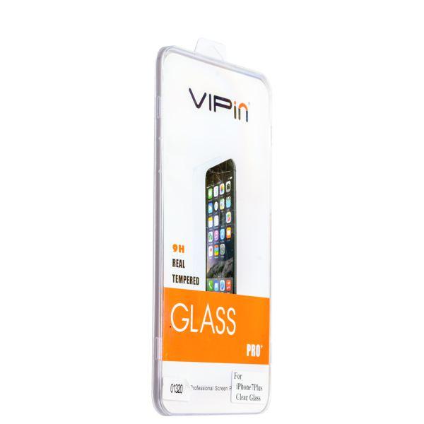 Стекло защитное VIPin прозрачное для iPhone 8 Plus/ 7 Plus (5.5) переднее