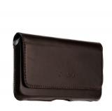 Кожаный чехол - кобура с двойным креплением на ремень Valenta (C - 918 5XL) Arezzo , цвет коричневый