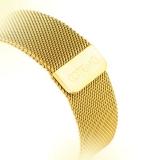 Ремешок из нержавеющей стали для Apple Watch (38 mm) COTEetCI W6 MAGNET Band (WH5202 - GD), цвет золотистый