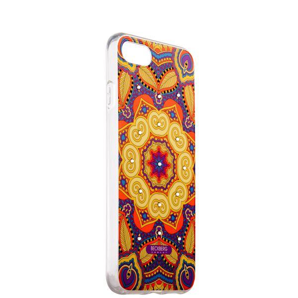 Накладка силиконовая Beckberg Exotic series для iPhone 8 (4.7) со стразами Swarovski вид 16