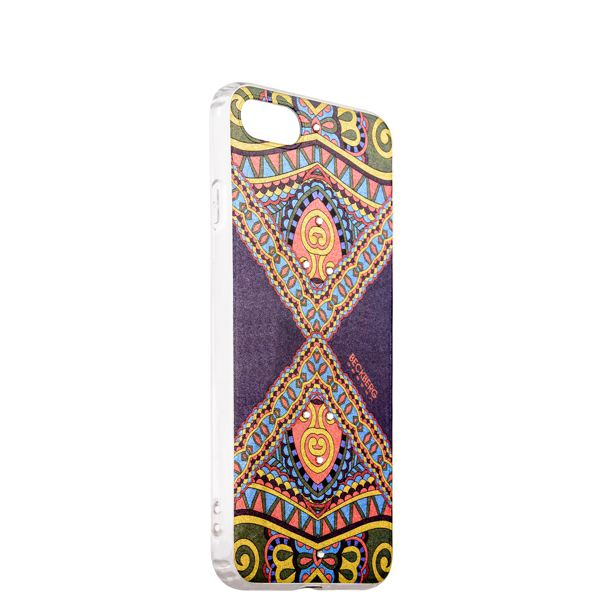 Накладка силиконовая Beckberg Golden Faith series для iPhone 8 (4.7) со стразами Swarovski вид 13