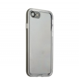 Силиконовый чехол - накладка для iPhone 7 Space grey,цвет серый