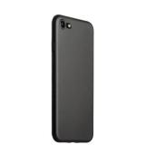 Супертонкий пластиковый чехол - накладка для iPhone 8 ICSES (0.3 мм), цвет черный матовый