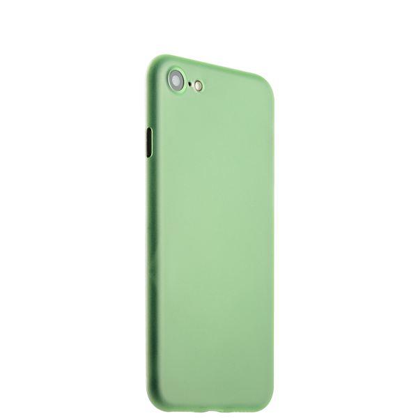 Чехол-накладка супертонкая для iPhone 8 (4.7) 0.3mm пластик в техпаке Салатовый матовый