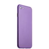 Супертонкий пластиковый чехол - накладка для iPhone 8 ICSES (0.3 мм), цвет сиреневый матовый