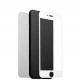 Стекло защитное для iPhone 8 Plus/ 7 Plus (5.5) Silver 2в1 (зеркальное-глянцевое, 2 стороны) Серебристое