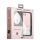 Набор iBacks Lady's 2-piece Suit - Приветствие Медведя зеркало & гребень & накладка для iPhone 8 (4.7) - (ip70004) Розовый