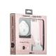 Набор iBacks Lady's 2-piece Suit - Приветствие Медведя зеркало & гребень & накладка для iPhone 8 Plus (5.5) - Розовый