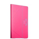 Чехол iBacks Inherent VV Structure Leather Case для iPad Air 2 (ip60134) Rose Red Розовый