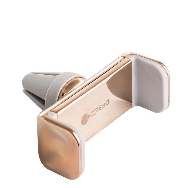 Автомобильный держатель для смартфонов COTEetCI Base7 Car Holder Zinc Alloy (CS2311 - CE) в решетку, цвет золотистый