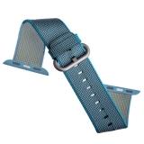 Нейлоновый ремешок для Apple Watch (38 mm) COTEetCI W11 NYLON BAND (WH5213 - BL - 38) Sky Blue, цвет небесно - голубой