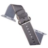 Нейлоновый ремешок для Apple Watch (42 mm) COTEetCI W11 NYLON BAND (WH5215 - GY - 42) Gray, цвет серый