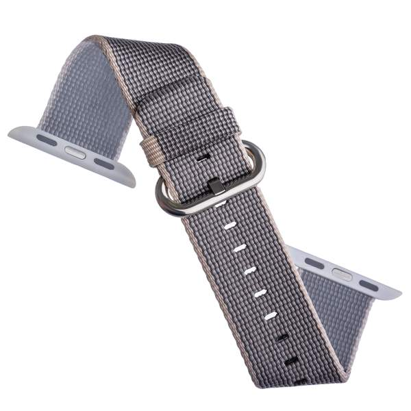 Нейлоновый ремешок для Apple Watch (44 mm) COTEetCI W11 NYLON BAND (WH5215 - GY - 42) Gray, цвет серый