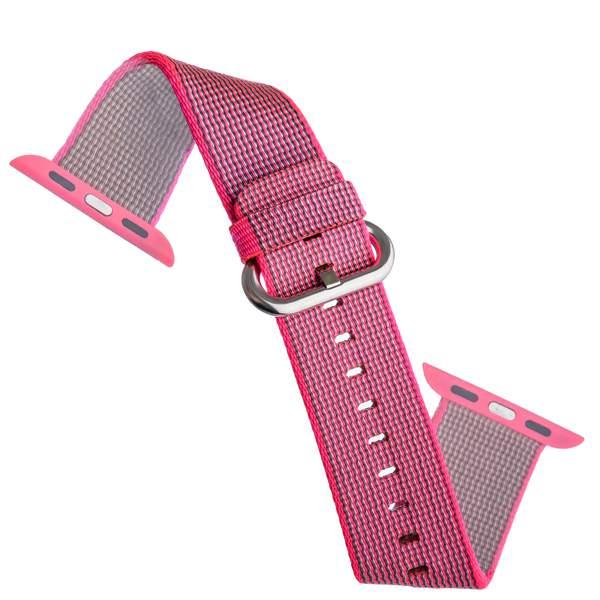 Ремешок COTEetCI W11 NYLON BAND (WH5215-PK-42) для Apple Watch 44 мм Pink - Розовый