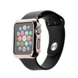 Пластиковый чехол для Apple Watch Series 2 (42 mm) COTEetCI Soft case (CS7031 - MRG), цвет розовое - золото