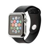 Пластиковый чехол для Apple Watch Series 2 (42 mm) COTEetCI Soft case (CS7031 - TS), цвет серебристый