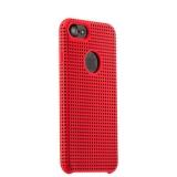 Силиконовый чехол - накладка для iPhone 7 COTEetCI Vogue Silicone Case (CS7023 - RD - BK),цвет красный / черный