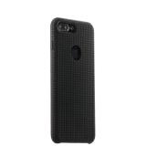 Силиконовый чехол - накладка для iPhone 7 Plus COTEetCI Vogue Silicone Case (CS7025 - BK - GY), цвет черный / графит
