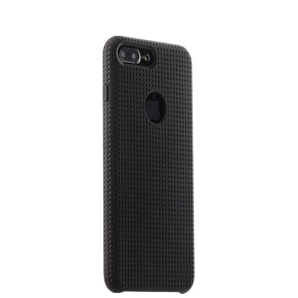 Чехол-накладка силиконовый COTEetCI Vogue Silicone Case для iPhone 8 Plus (5.5) CS7025-BK-GY Черный/ Графит