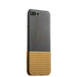 Силиконовый чехол - накладка для iPhone 7 Plus COTEetCI Gorgeous Silicone (CS7029 - GD), цвет прозрачный / золотистый