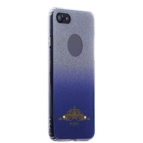 Накладка силиконовая Beckberg Starlight series для iPhone 8 (4.7) со стразами Swarovski вид 1