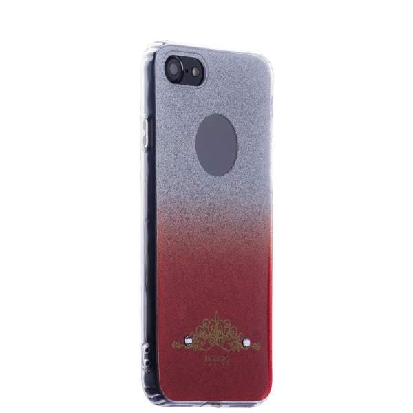 Накладка силиконовая Beckberg Starlight series для iPhone 8 (4.7) со стразами Swarovski вид 2