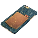 Пластиковый чехол - накладка для iPhone 6S Umku Jeans Soft - touch вид 7