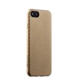 Пластиковая ультра - тонкая накладка для iPhone 8 Phantom series (HYOIP7 - GLD), цвет золотистый карбон
