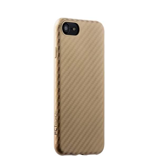 Накладка (карбон) ультра-тонкая Phantom series (HYOIP7-GLD) для iPhone 8 (4.7) Золотистая