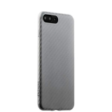 Пластиковый ультра - тонкий чехол накладка для iPhone 8 Plus Peacocktion Phantom series (HYIIP7 - SIL), цвет серебристый