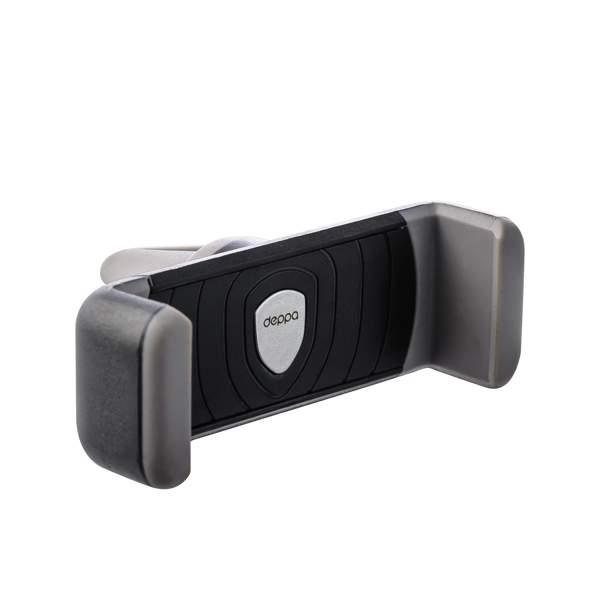 Автомобильный держатель для смартфонов Deppa Crab Air mini D - 55133 (3.5 - 5.7) в решетку, цвет графитовый