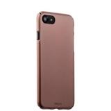Чехол-накладка пластик Soft touch Deppa Air Case D-83271 для iPhone 8 (4.7) 1 мм Розовое золото
