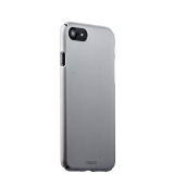 Чехол-накладка пластик Soft touch Deppa Air Case D-83268 для iPhone 7 (4.7) 1 мм Серебристый