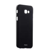 Чехол - накладка пластик Soft touch Deppa Air Case D - 83289 для Samsung Galaxy A7 SM - A720F (2017 г.) 1мм Черный