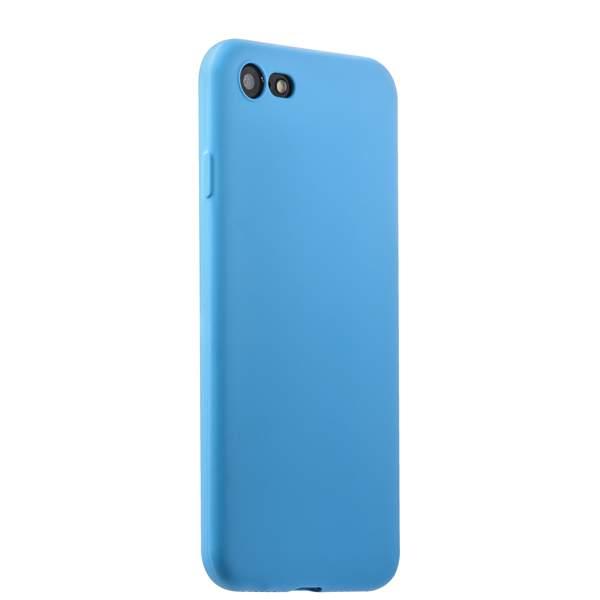 Чехол-накладка силикон Soft touch Deppa Gel Air Case D-85266 для iPhone 8 (4.7) 0.7 мм Голубой