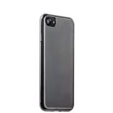 Чехол-накладка силикон Deppa Gel Plus Case D-85255 для iPhone 8 (4.7) 0.9 мм Графитовый глянцевый борт
